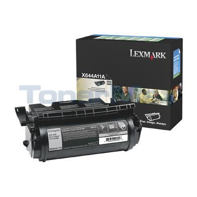 LEXMARK X644E RP PRINT CARTRIDGE BLACK 10K